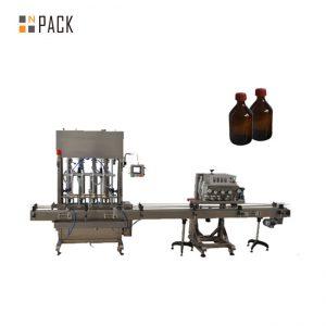 Tự động trục chính Capper nhựa nắp chai nhựa