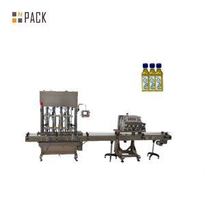 Tự động 1-5L piston chai jar dầu bôi trơn động cơ máy làm đầy chất lỏng dầu