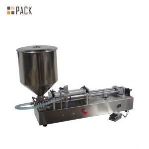 Máy rót kem rất phổ biến / máy rót hai đầu / máy rót sơn móng tay