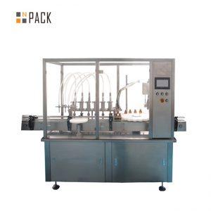 Tinh dầu Filling Cap Thiết bị vặn vít 10-100ml E lỏng E Juice Filling Capping Machine